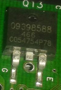 mt35e - opel ECU - Brak iskry na 1 cylindrze - walnięty tranzystor ?