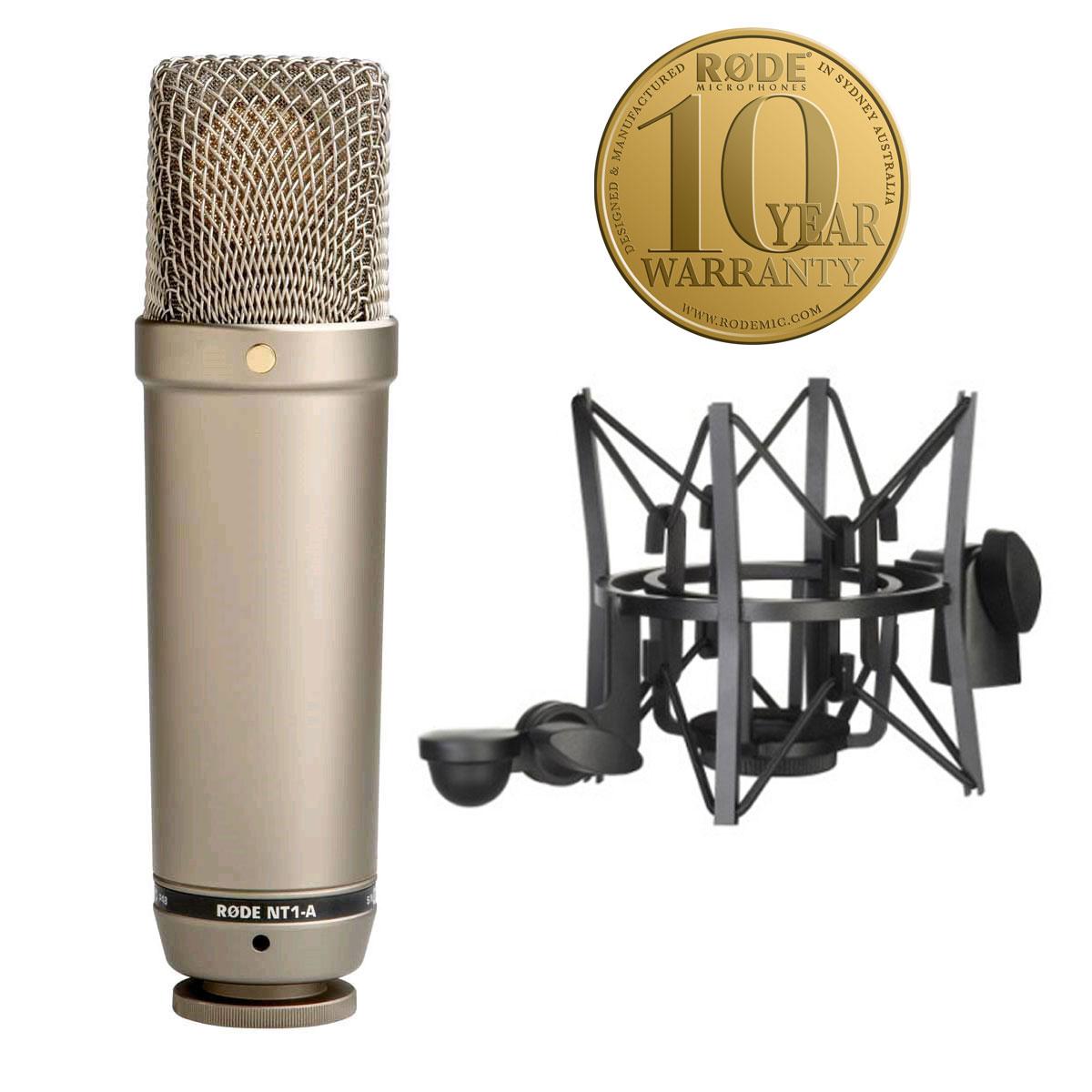 Podłącz mikrofon pojemnościowy
