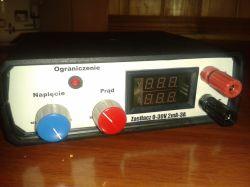 Zasilacz 0...30V (electronis lab)
