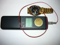 Chronocomparator - vibroscope for setting the gait of mechanical watches