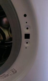 Pralka Electrolux EWF 10240 2 - Nieopatrzenie odkręcone śrubki przy zamknięciu
