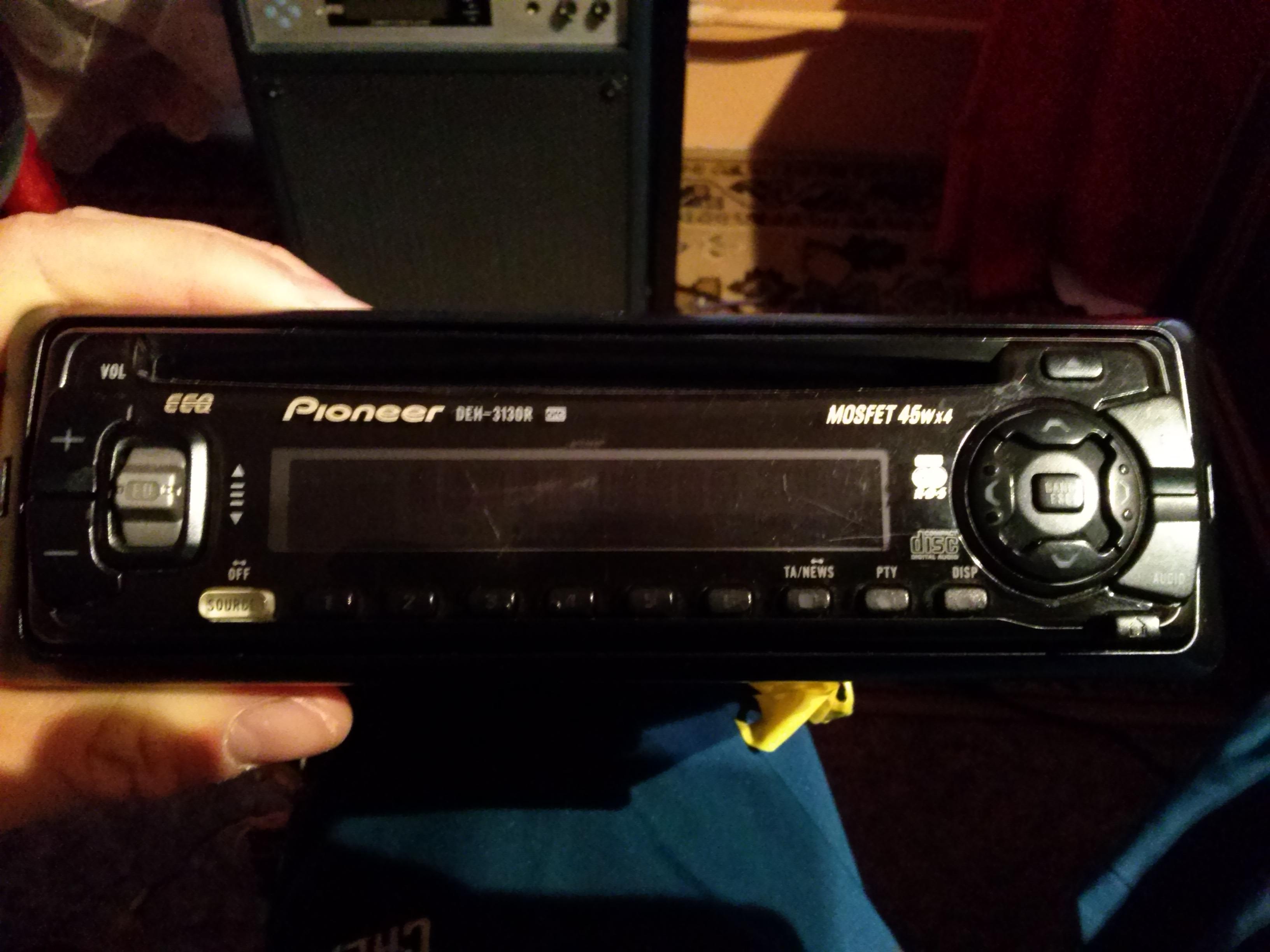 [Sprzedam] Radio samochodowe Pioneer DEH 3130R
