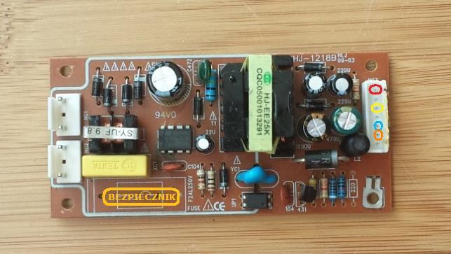 DVD Hyundai DV2X227DU - Uszkodzona przetwornica/alternatywne zasilanie