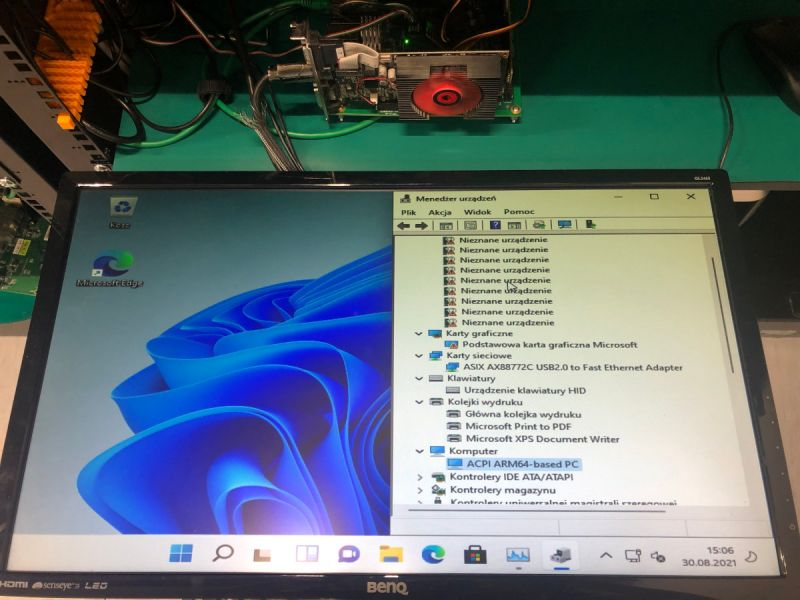 Windows 11 może działać na platformach ARM SystemReady ES, takich jak Raspberry