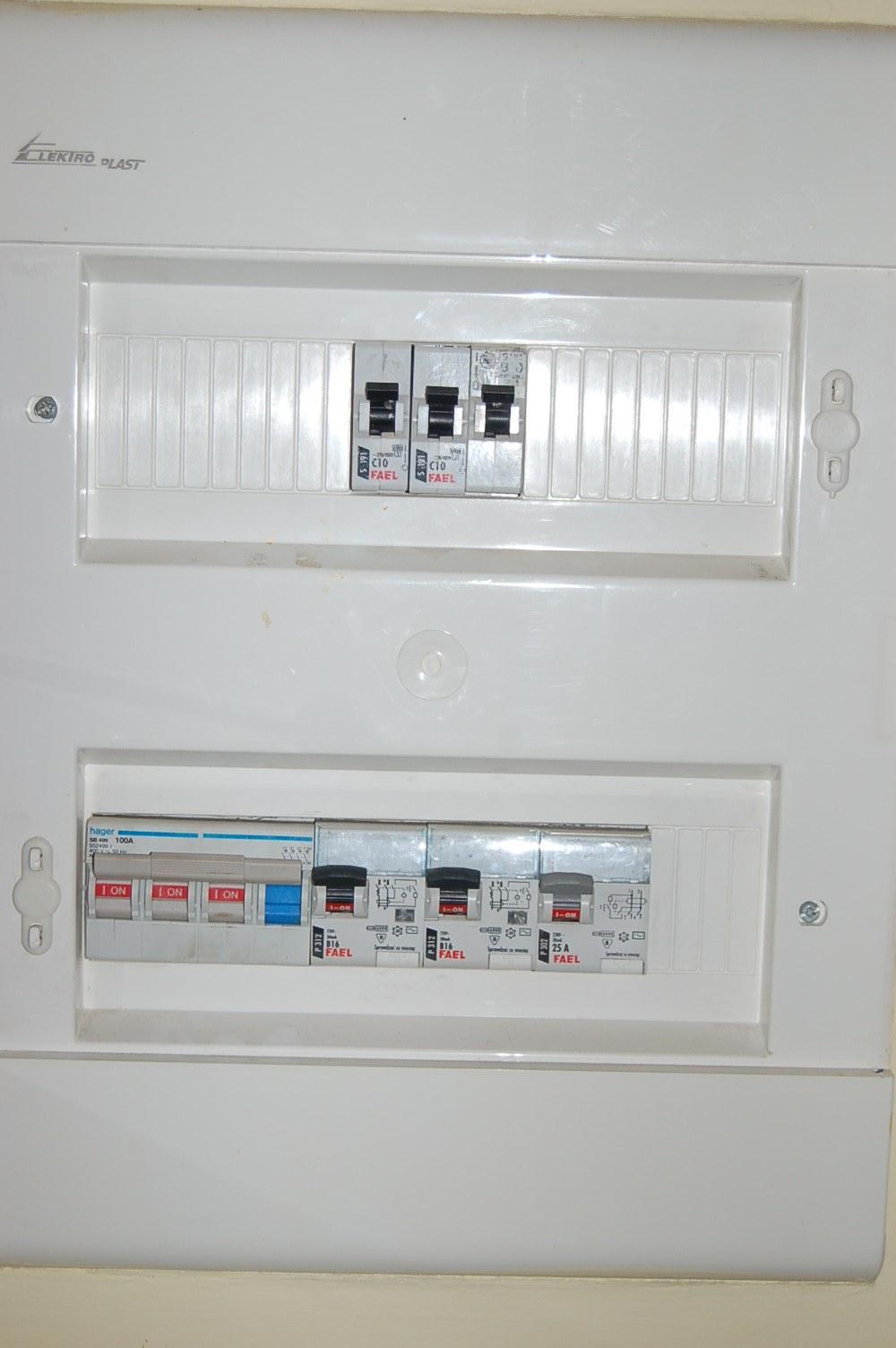 Instalacja TN-C-S w domku jednorodzinnym.