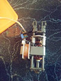 Wiertarka z silnikiem miksera - Mocowanie glowicy