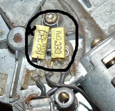 Silnik wycieraczek tył Ford Escort 99 kombi nie działa.