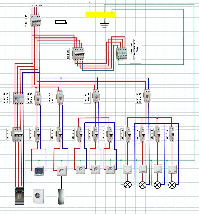 Instalacja Elektryczna W Domu Jednorodzinnym Elektrodapl