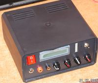 Zasilacz 1.2-30V 2A/1.2-11V 4A + panel LCD, UART, ładowarka