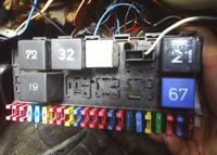 WV, Golf II , silnik NZ, czarny czujnik temperatury