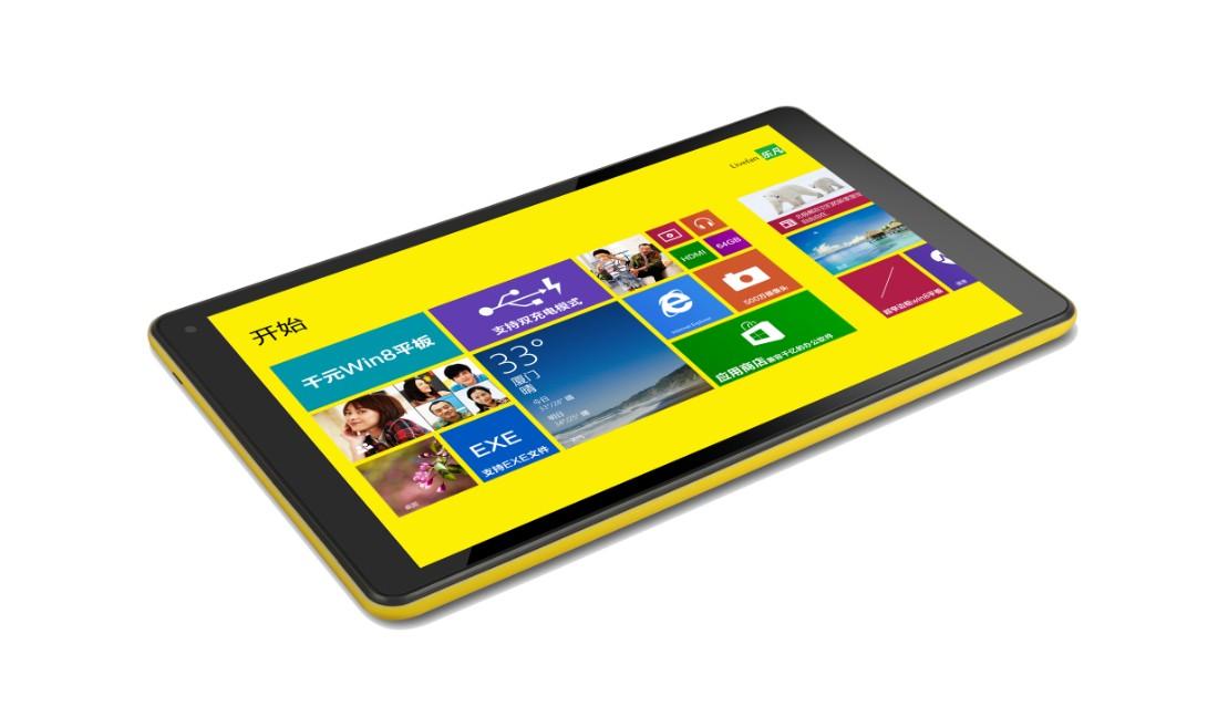 Livefan F8C - 8-calowy tablet z Bay Trail-T i Windows 8.1