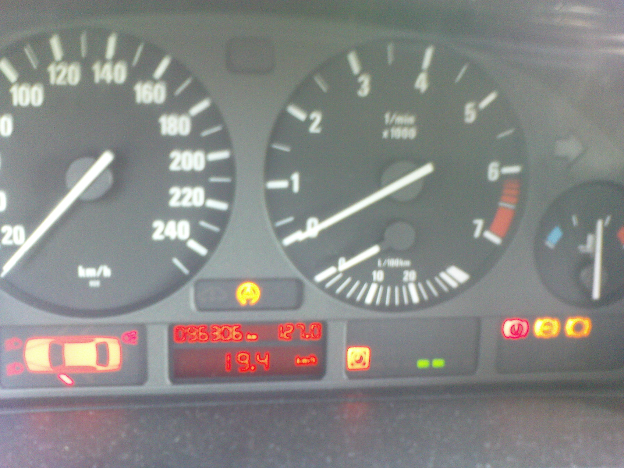Bmw 318i E46 Coupe Wariuje Komputer Liczniki Zegary Pala Sie Kontrolki