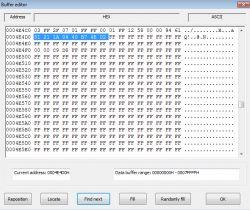 SAMSUNG UE40H6640 - Uszkodzony TCON - White Balance