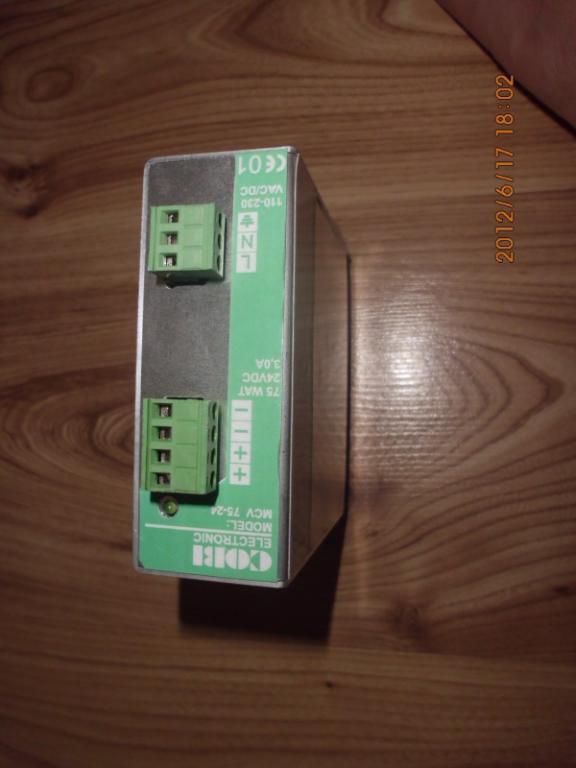 [Sprzedam] Nowy zasilacz impulsowy Cobi MCV 75-24 24VDC 75W 3,0A