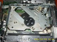Radio Delco CDR500 znaleziona sprężynka w cd odtwarzaczu