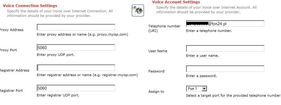 Ustawienia SIP Netia. WiFi i jednocze�nie dzia�aj�cy telefon.