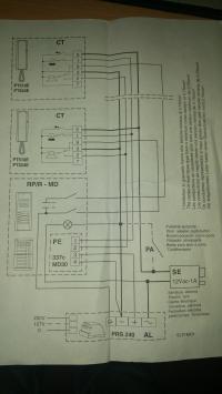 Domofon Farisa PT510W - nie działający dzwonek powiadamiający