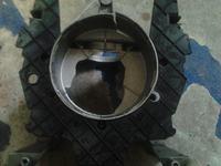 Kompresor Topex LT 50 - Zużyty czop wału