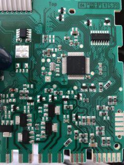 Zmywarka Bosch SGV45M83EU - miga wyświetlacz