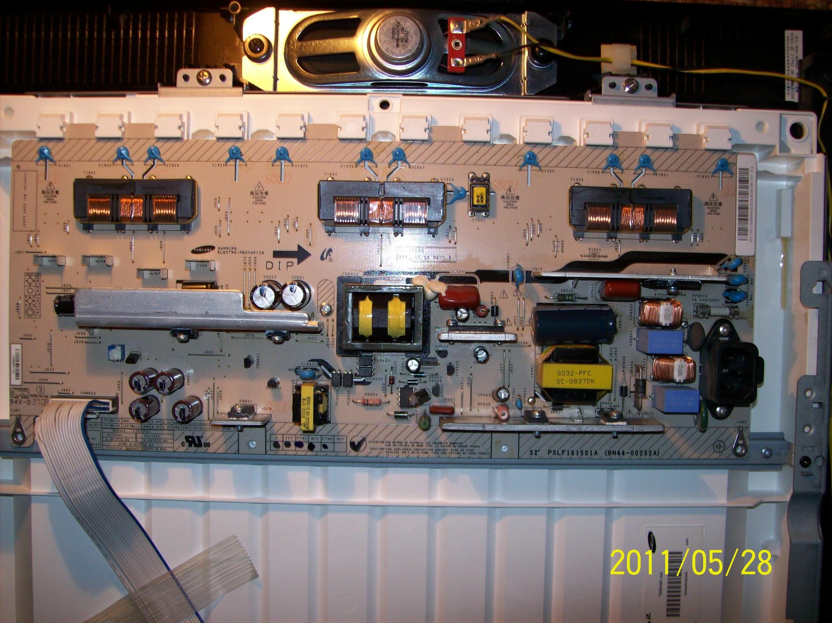 TV LCD Samsung LE32A330J1N-po przepi�ciu