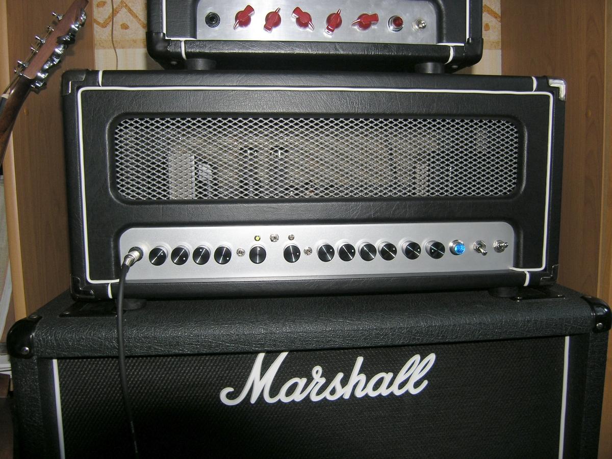 """Lampowy wzmacniacz gitarowy 50W """"Red Baron"""" & JCM800 2204"""