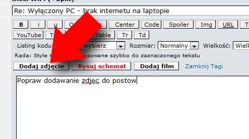 Wy��czony PC - brak internetu na laptopie