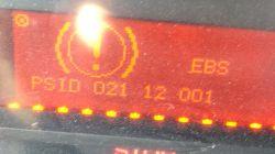 Renault Magnum 480DXI 2005r - Magnum 480DXI brak świateł stop w naczepie