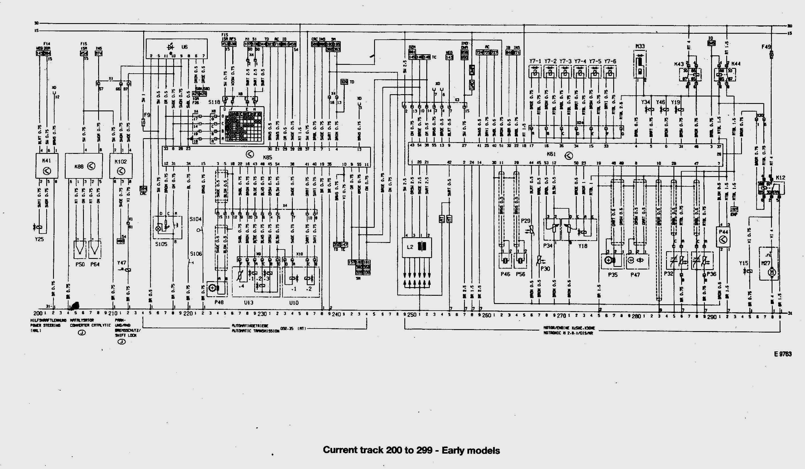 Opel Omega schemat instalacji automatycznej skrzyni bieg�w