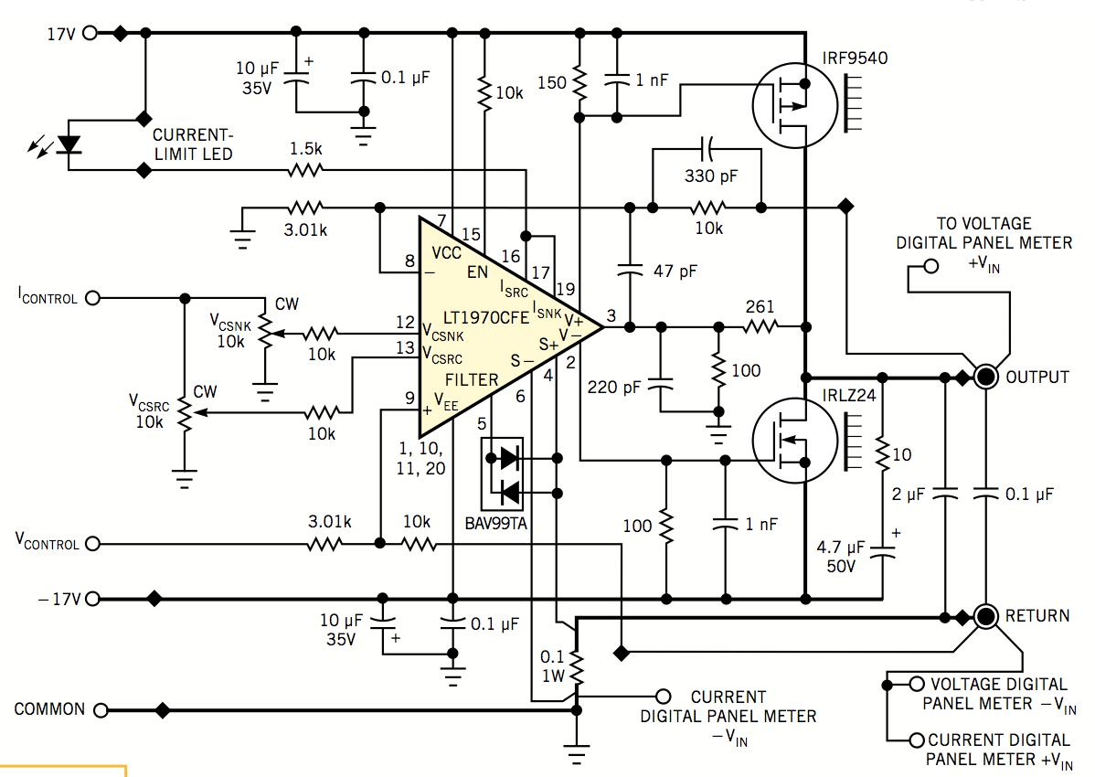 high precision source measurement unit