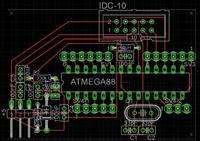 """Prośba """"zielonego"""" o sprawdzenie schematu Atmega8"""