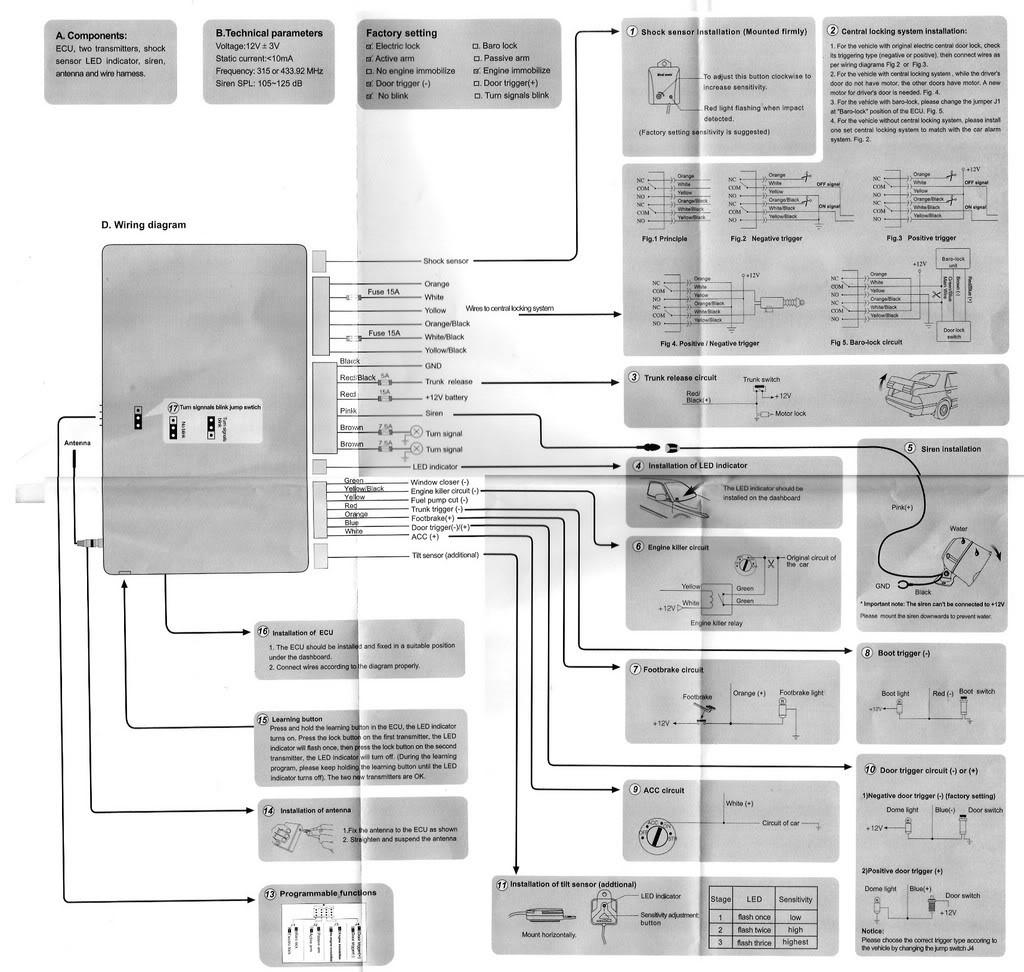 Clifford Matrix Alarm Wiring Diagram Schematics Alarms B134718b 1 Another Blog About U2022 1996 Chevy Truck