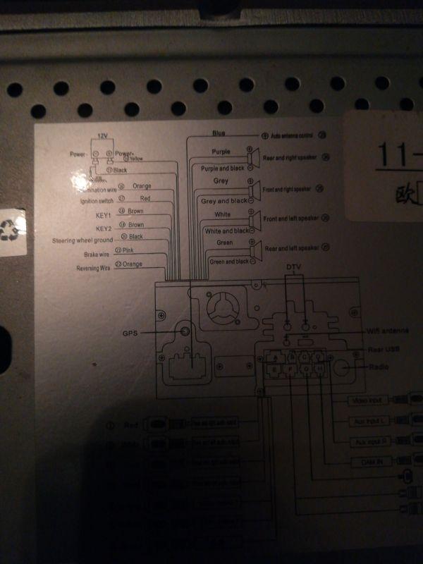 Chińskie radio Pumpkin problem - Brak pomysłu na podlaczenie nie rozumiem schema