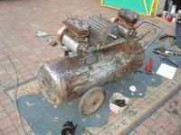 Zestaw do piaskowania DIY Kompresor + Piaskarka
