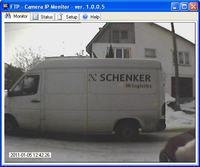 Wysy�anie zdj�� na serwer FTP przez kamer� IP - program.