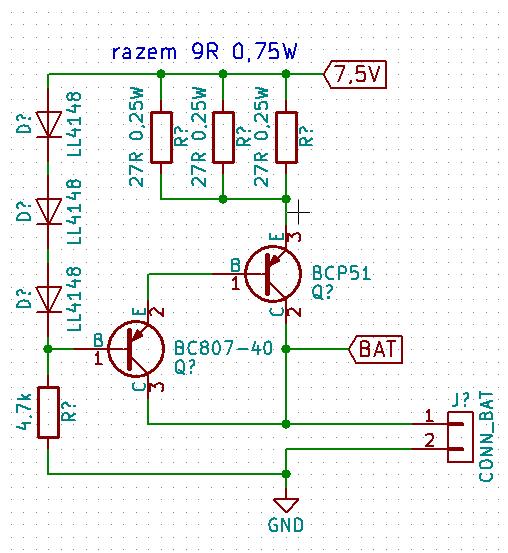 Prosta ładowarka akumulatorów NiCd elektroda.pl
