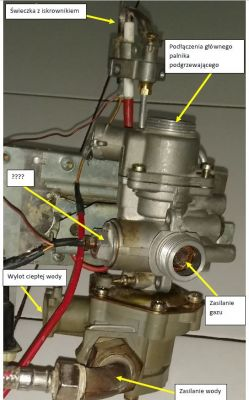 JUNKERS zasada działania pieca gazowego ze świeczką