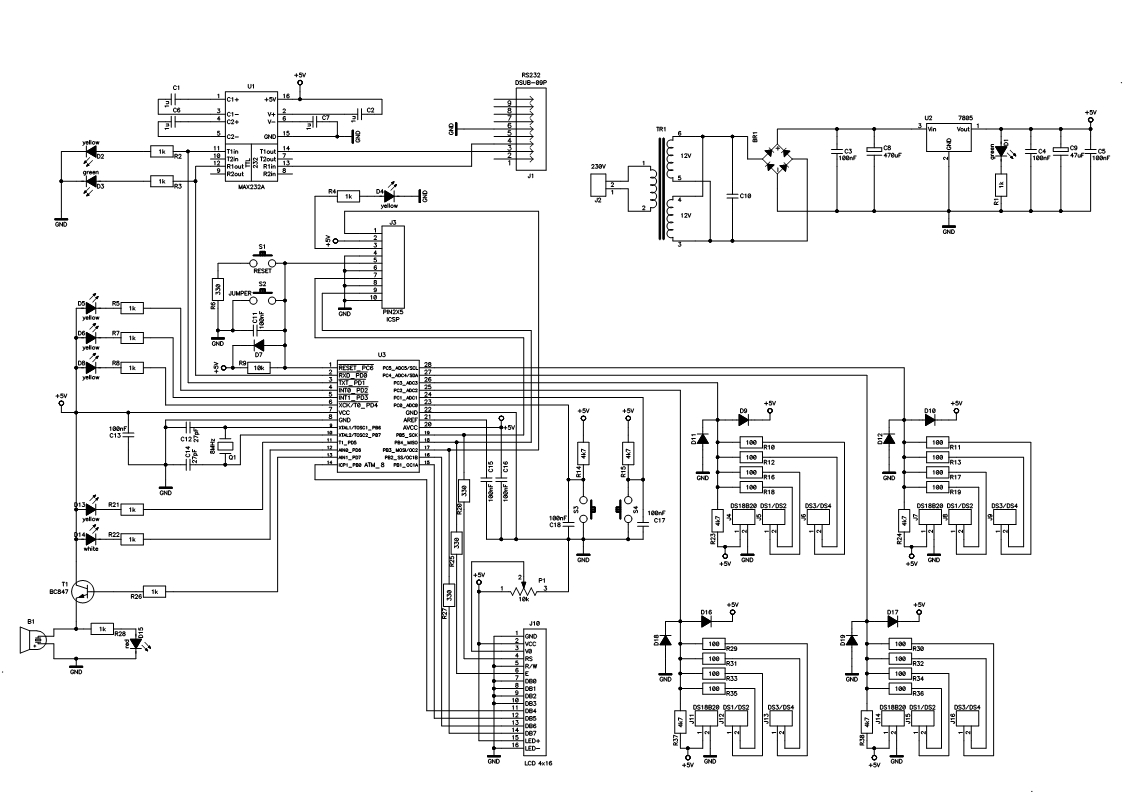 ATMEGA8 - Prosba o weryfikacj� schematu