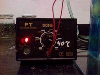prosta i tania wytrawiarka z termostatem i napowietrzaniem