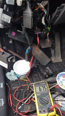 VW Touran 1T0 - Zwarcie na szynie CAN