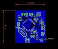 Pierwsze starcie z wytrawianiem i lutowaniem TQFP - płytka z PIC32MX795F512H