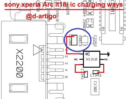 Xperia ARC S Brak obrazu wyrwane dwa elementy z p�yty
