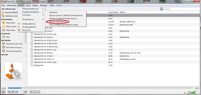 Odtwarzacz Bluetooth/USB DW-CT14+