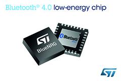 STMicroelectronics prezentuje modu� BT 4.0 LE o najni�szym poborze mocy