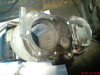Briggs 650 - Urwana końcówka dźwigni regulatora obrotów