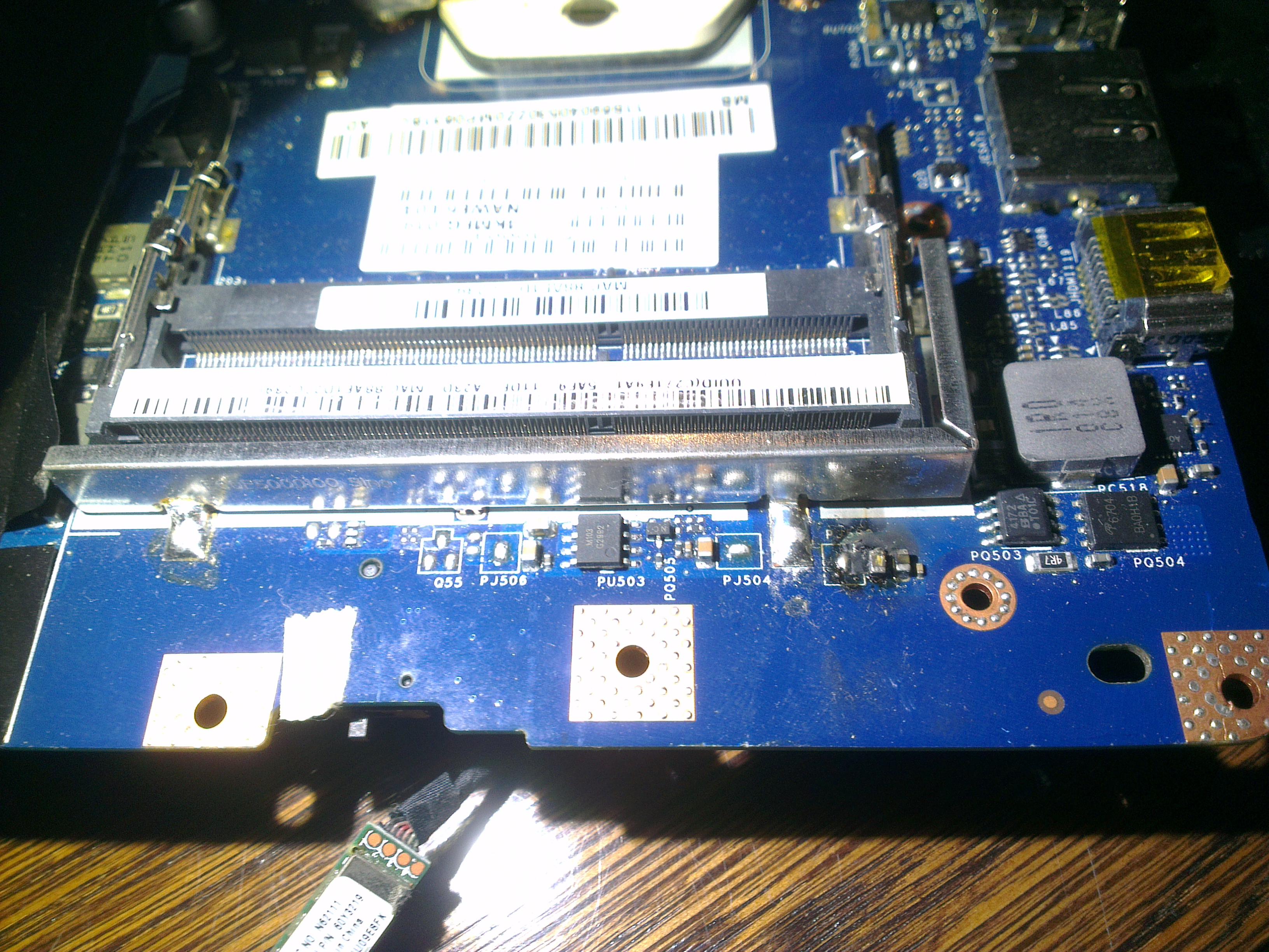 [Zlec�] Napraw� p�yty g��wnej NAWE6 LA - 5754P  (Lenovo Z565)