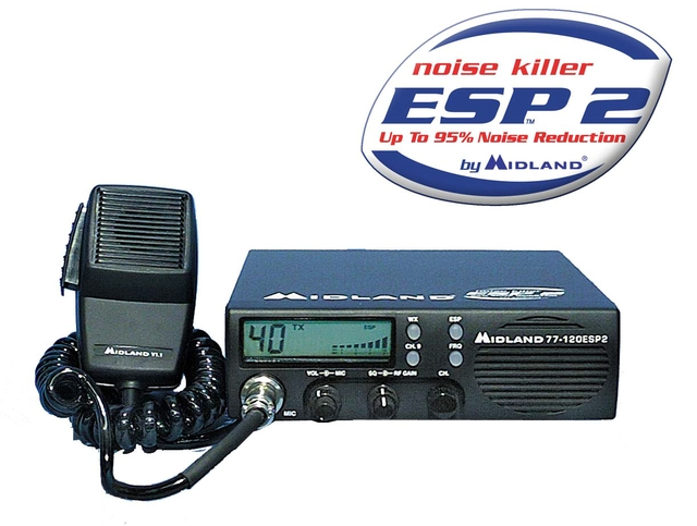 Midland 77-120ESP CB Tranciever Manual EN