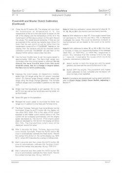 Jcb fastrac 185-65 - Kalibracja sprzęgła