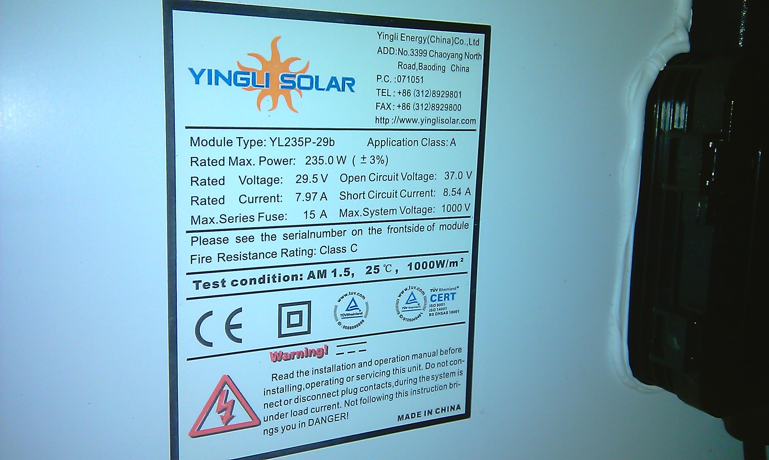 Elektrownia s�oneczna 1,4kW i przer�bka bojlera.