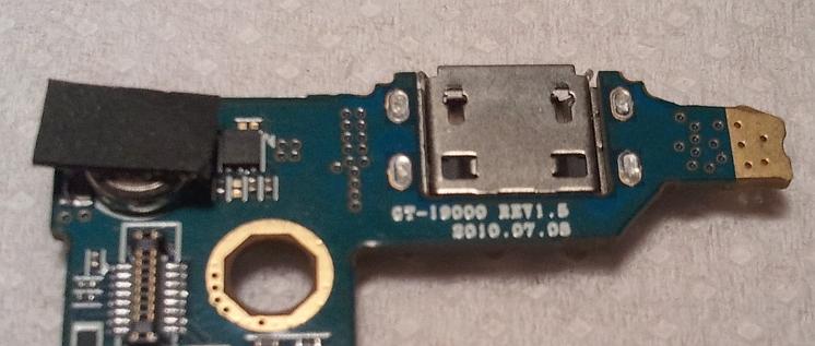 Samsung Galaxy S i brakuj�cy element na PCB