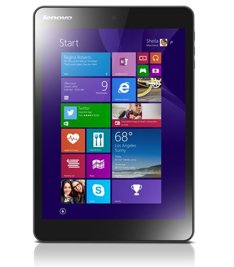 "Lenovo Miix 3 8 - tablet z 7,85"" ekranem 4:3, Atom i Windows 8.1"